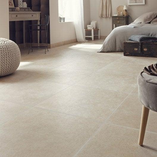 Carrelage sol et mur beige effet pierre tivoli x for Choisir carrelage sol