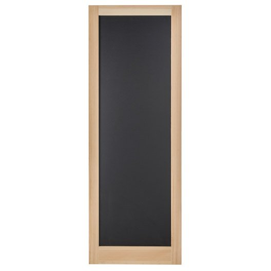 porte coulissante pin plaqu e pin craie artens x l. Black Bedroom Furniture Sets. Home Design Ideas