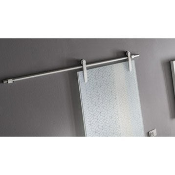 Rail coulissant Lindy, pour porte de largeur 83 cm maximum