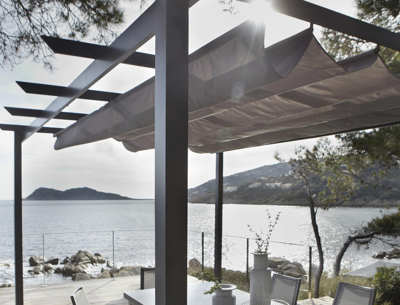 pergola adoss e leader aluminium gris anthracite 12 m leroy merlin. Black Bedroom Furniture Sets. Home Design Ideas