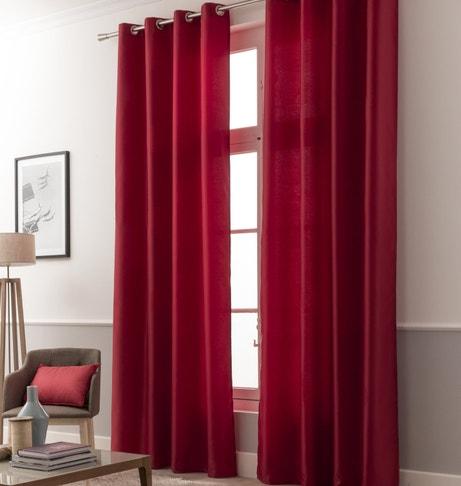 La couleur rouge par touche ou total look leroy merlin - Style de rideaux pour salon ...