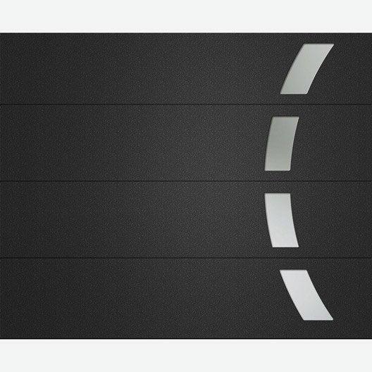 porte de garage sectionnelle motorisée artens essentiel h.200 x l
