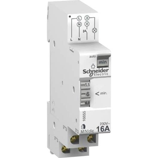 minuterie schneider electric 250 v 20 a leroy merlin