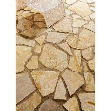 Opus pierre du lot, beige, Ep.25 mm