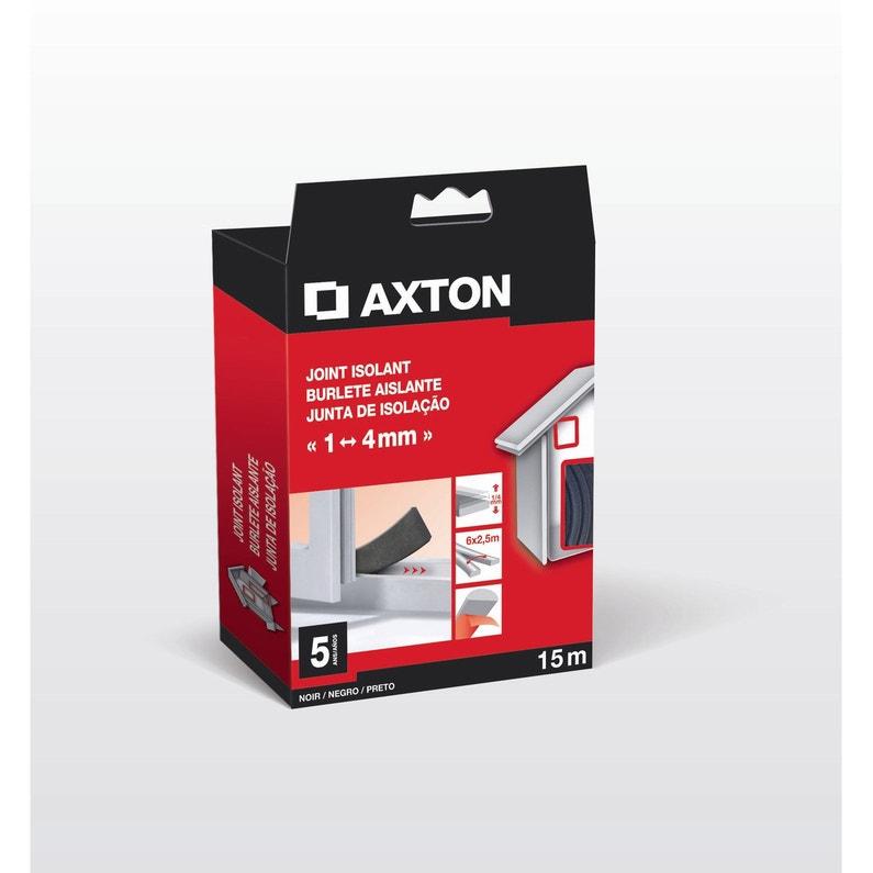 Joint De Porte Et Fenêtre Universel Axton De 1 à 4 Mm X 15 M Noir