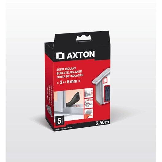 Joint de porte et fen tre universel axton de 3 5 mm x 5 for Joint isolation fenetre