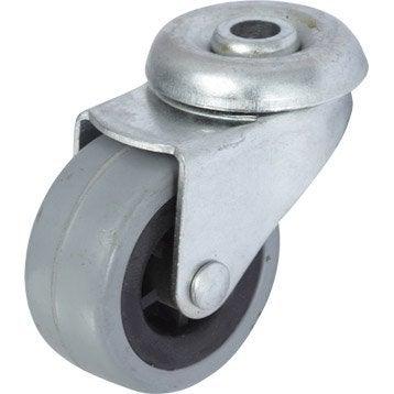 Roulette pivotante à oeil, Diam.42 mm
