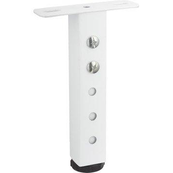 accessoires pour pied de meuble pied d 39 ameublement roue et roulette leroy merlin. Black Bedroom Furniture Sets. Home Design Ideas