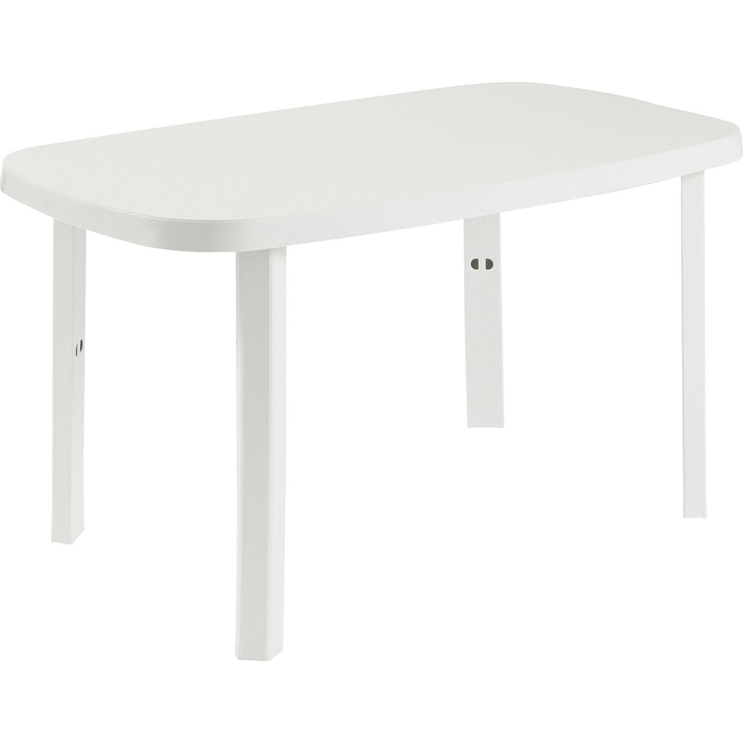table de jardin de repas otello ovale blanc 2 personnes. Black Bedroom Furniture Sets. Home Design Ideas