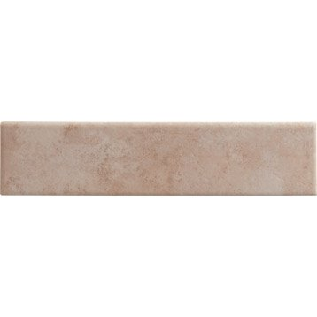 Lot de 3 plinthes Denia rose, l.8 x L.33.3 cm