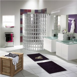 Remplacer Une Fenetre Par Des Briques De Verre Best O Placer Des - Mur en brique de verre salle de bain