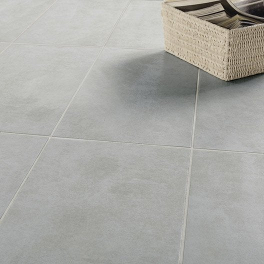 carrelage salon gris leroy merlin