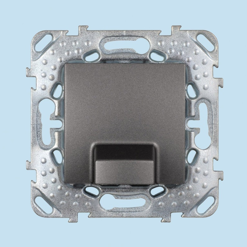 Sortie De Câble Unicatop Schneider Electric Gris Anthracite