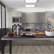 Panneau LED intégrée GDANSK INSPIRE carré 60 x 60 cm, 48 W, blanc chaud / froid