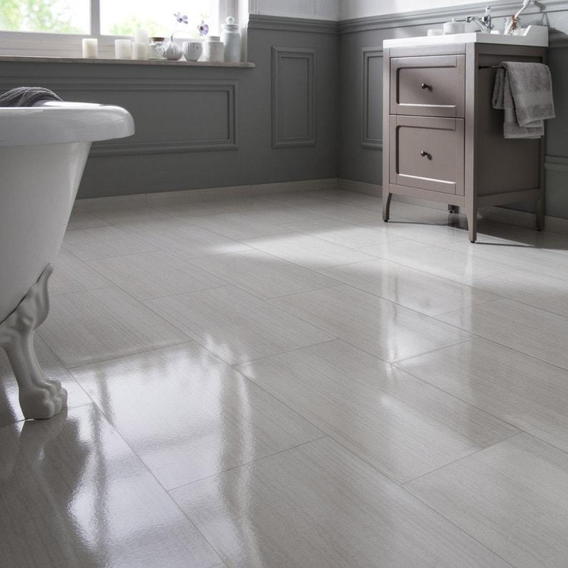carrelage sol et mur blanc effet marbre syracuse x l. Black Bedroom Furniture Sets. Home Design Ideas