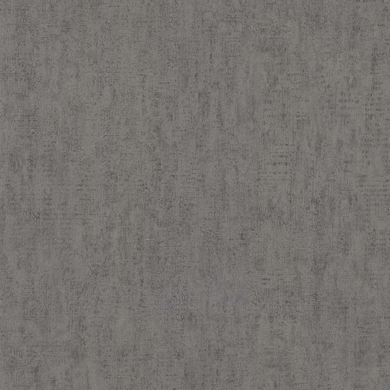 Papier Peint Vinyle Craquele Paillete Brun Fonce Leroy Merlin