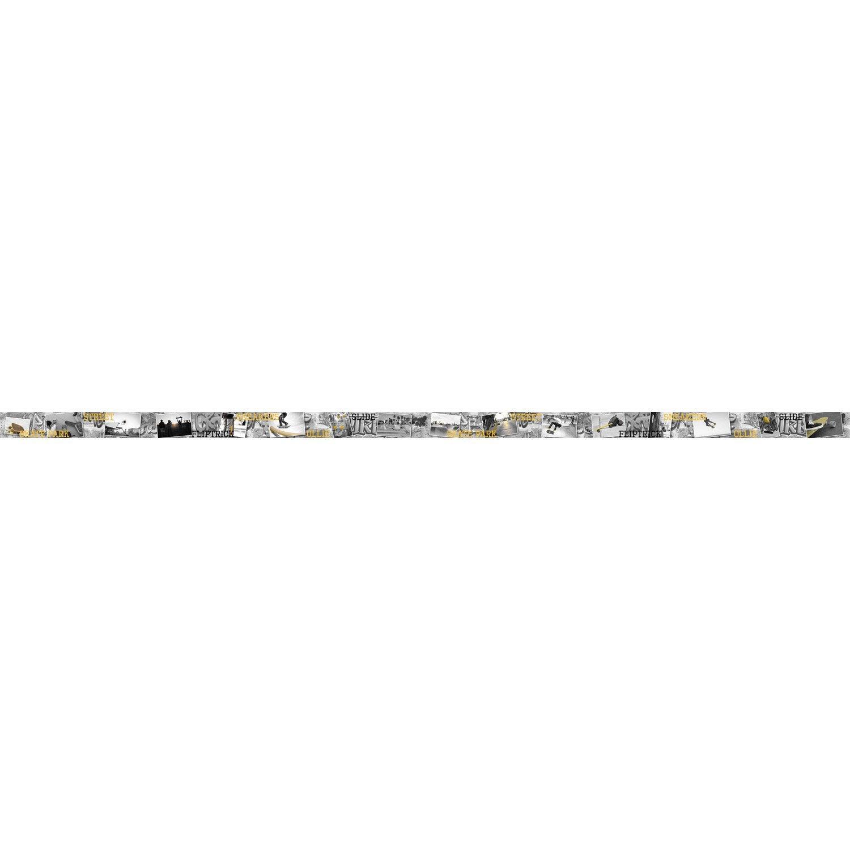 Frise vinyle adhésive Skate L.5 m x l.15 cm | Leroy Merlin