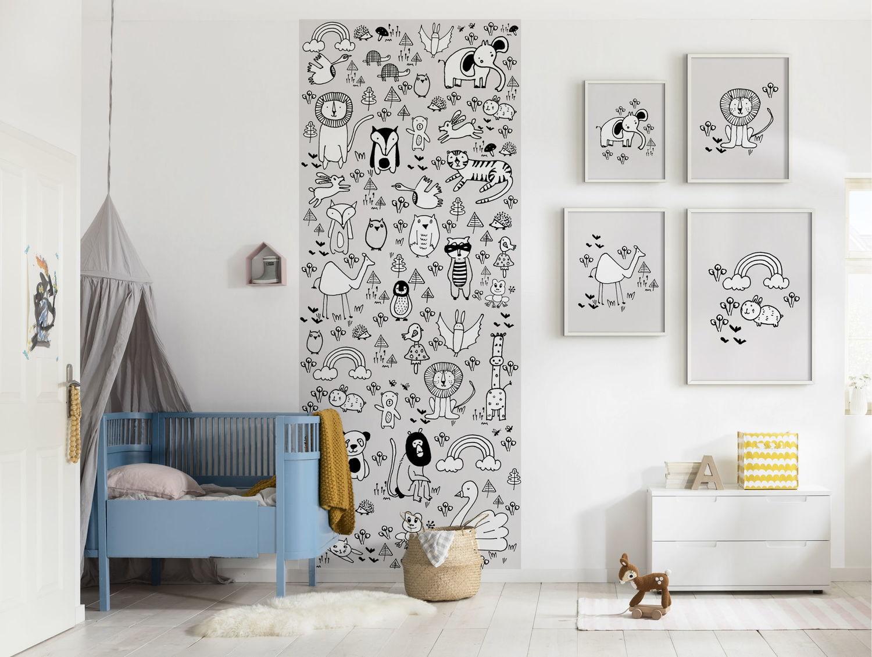 Poster mural XXL pour la chambre de bébé  Leroy Merlin