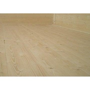 Plancher en bois Tana, l.328 x H.16 x P.268 cm