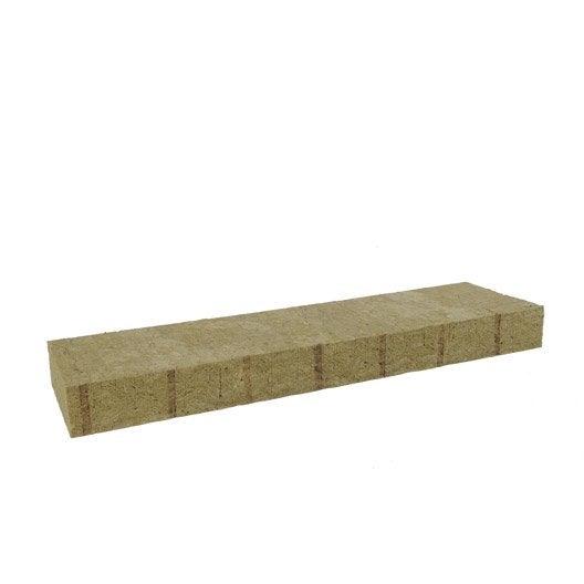 5 panneaux en laine de roche mbrock rockwool r leroy merlin. Black Bedroom Furniture Sets. Home Design Ideas