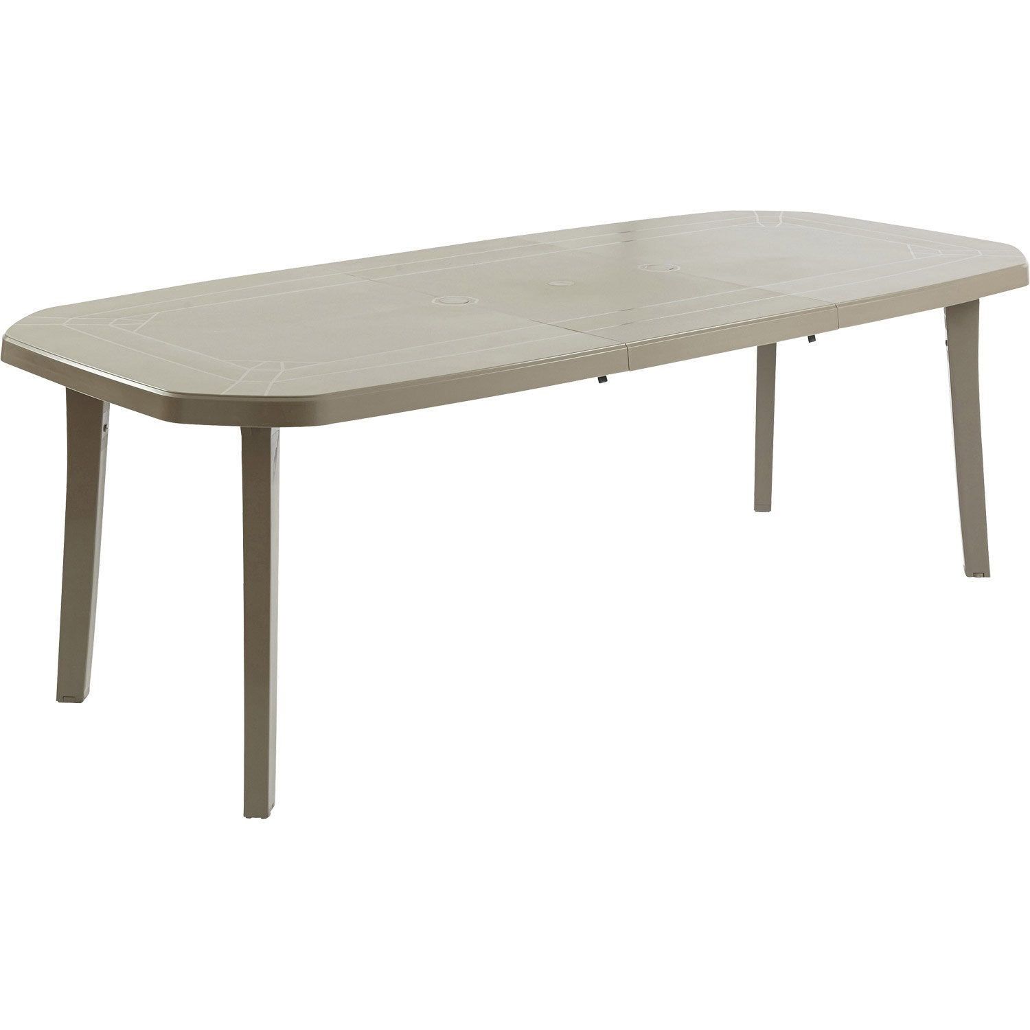 Stunning grande table de jardin grosfillex photos design for Tables de jardins