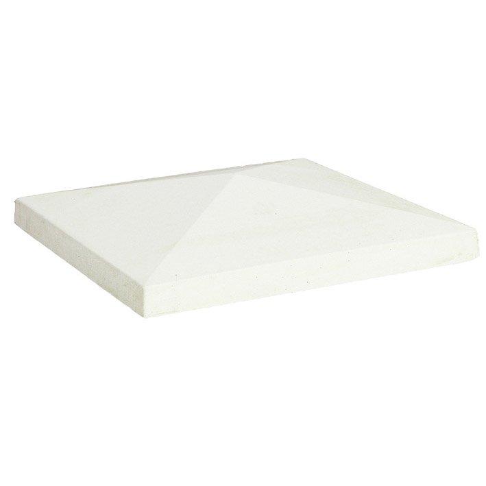 Chapeau Blanc H75 X L36 X P36 Cm