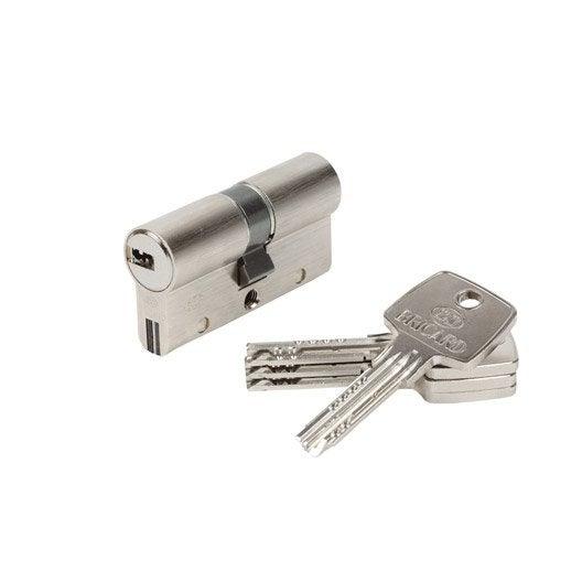 Cylindre de serrure serrure et cylindre de serrure - Comment installer une serrure de porte ...