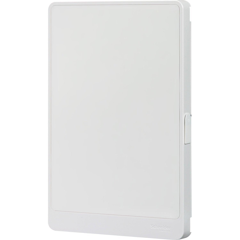 porte pour tableau lectrique schneider electric 2 rang es 26 modules leroy merlin. Black Bedroom Furniture Sets. Home Design Ideas