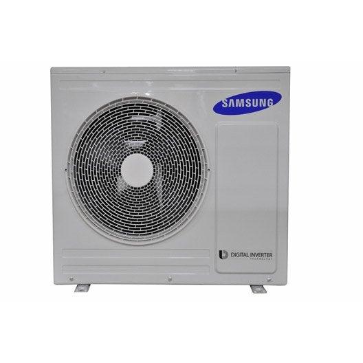 pompe chaleur air air unit ext rieure multisplit samsung 8000w leroy merlin. Black Bedroom Furniture Sets. Home Design Ideas
