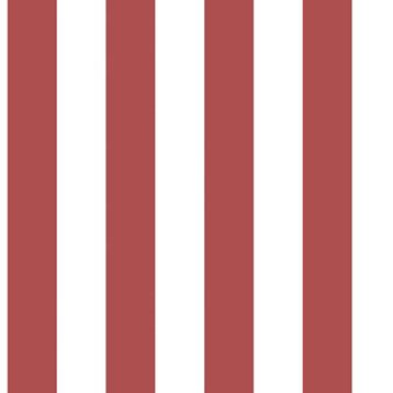 Papier peint intissé rouge/blanc