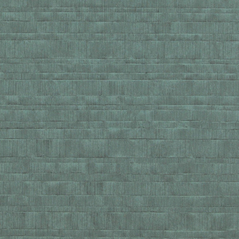 Papier Peint Vinyle Toile Chacran Vert Emeraude Leroy Merlin