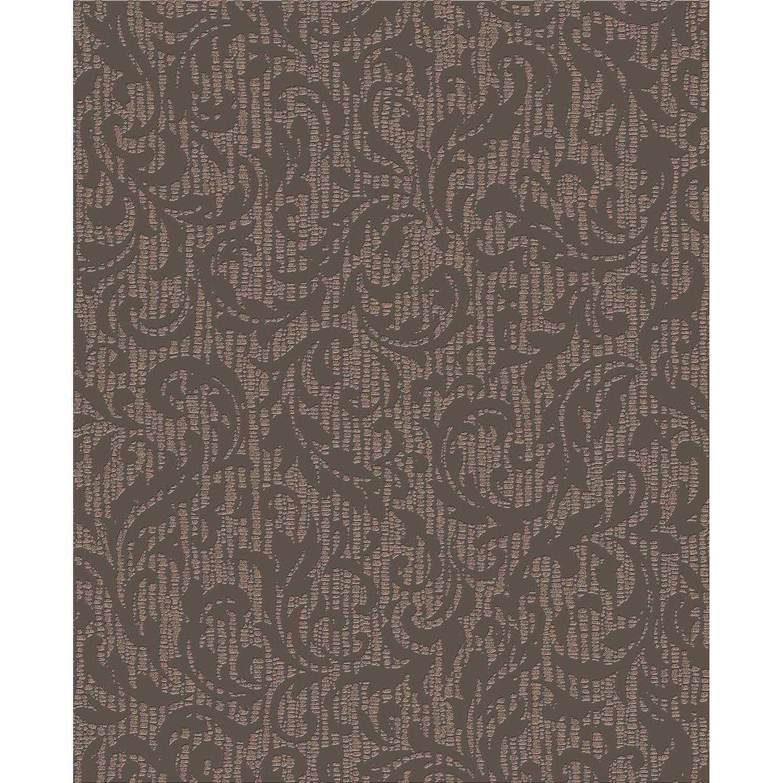 Papier Peint Marron : Papier peint cashmere marron leroy merlin