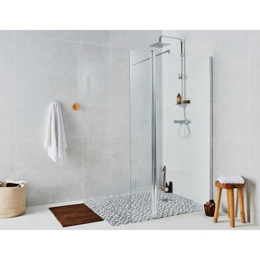 Paroi de douche l 39 italienne cm cm verre - Paroi vitree douche italienne ...