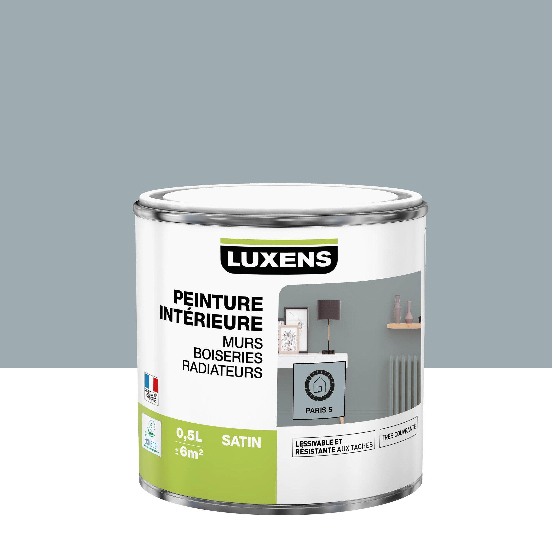 Peinture mur, boiserie, radiateur Multisupports LUXENS, paris 5, 0.5 l, satin