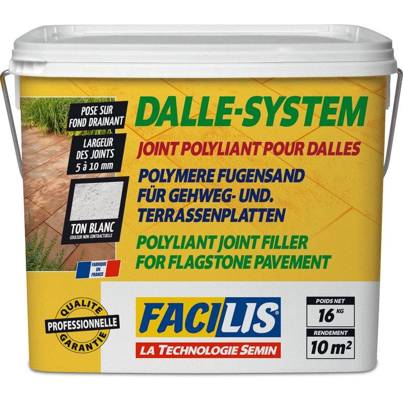 Joint Pour Dalles Blanc