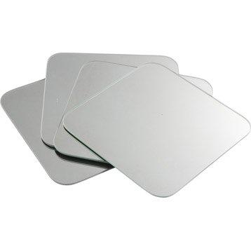 Miroir simple de salle de bains miroir de salle de bains for Tablette salle de bain leroy merlin