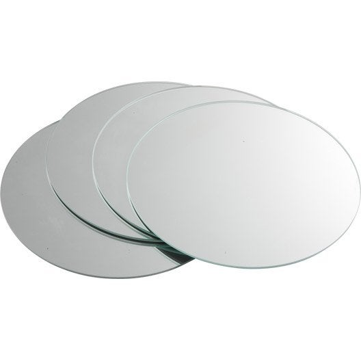 Miroir Rond Poli Sensea 20 X 20 Cm Leroy Merlin