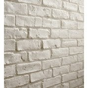 Plaquette de parement Easy Block Manhattan en plâtre, blanc