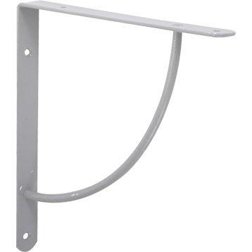 querre d corative bi bop en acier epoxy gris 23 x 23 cm. Black Bedroom Furniture Sets. Home Design Ideas