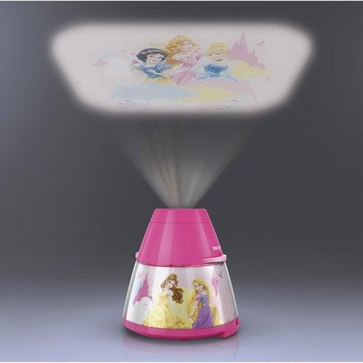 Objet lumineux, led intégrée Princess PHILIPS, synthétique multicolore, 0.3 W