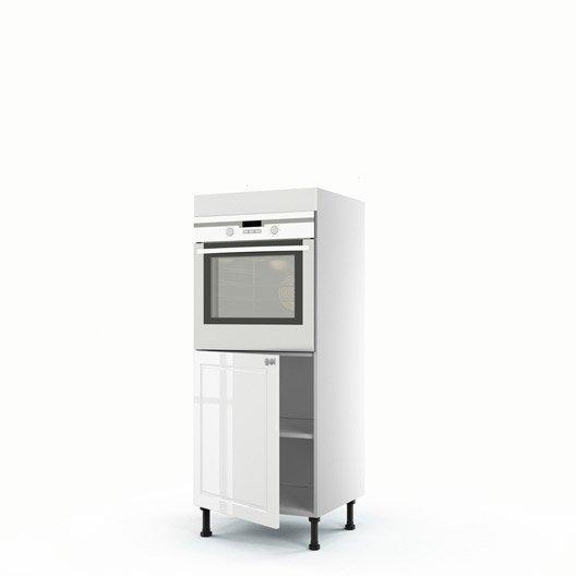 demi colonne blanc four 1 porte chelsea x x cm leroy merlin. Black Bedroom Furniture Sets. Home Design Ideas