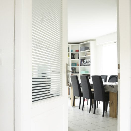 film adh sif pour vitrage d coratif 250x90 cm leroy merlin. Black Bedroom Furniture Sets. Home Design Ideas