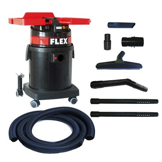 aspirateur flex 23500 kpa 33 l leroy merlin. Black Bedroom Furniture Sets. Home Design Ideas