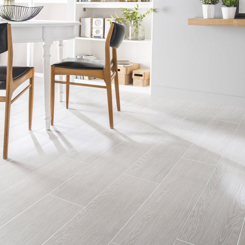 Sol Carrelage Et Bois Carrelage Sol Et Mur Blanc Calcaire Effet - Carrelage imitation parquet blanc