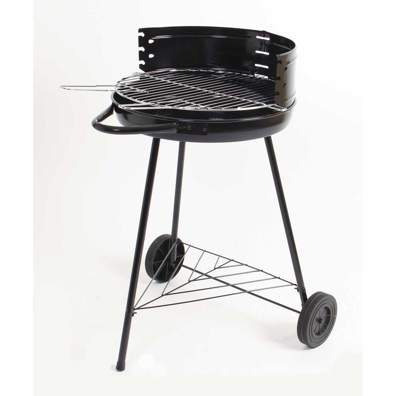 Barbecue Au Charbon De Bois Noir