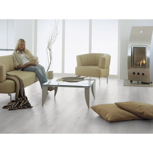 Sol Stratifié Blanc, Ep.12 Mm Prestige Acoustic 10 | Leroy Merlin
