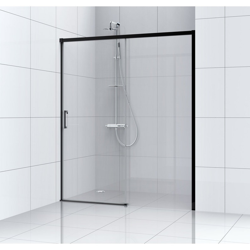 Porte De Douche Coulissante 120 Cm Transparent Remix