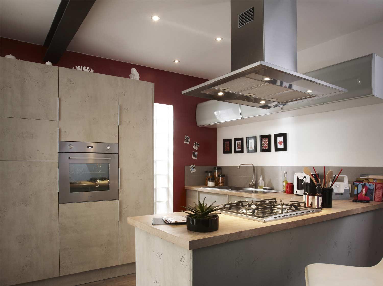 Tout savoir sur la cuisine ouverte leroy merlin - La cuisine a toute vapeur pdf ...