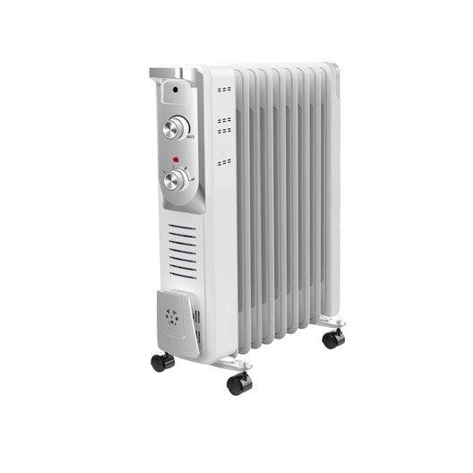 radiateur bain d'huile électrique equation olea 2000 w | leroy merlin