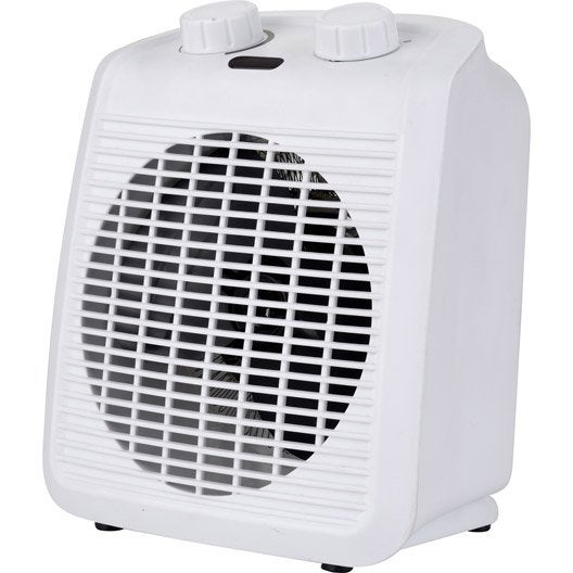 Radiateur soufflant salle de bain mobile électrique multico EQUATION Five 2000 W